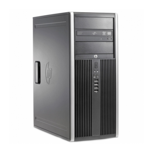 Calculator Second Hand SH HP 6200 Pro Mt Tower, Intel Core i3-2100 3.10GHz, 4GB DDR3, 250GB SATA, DVD-ROM