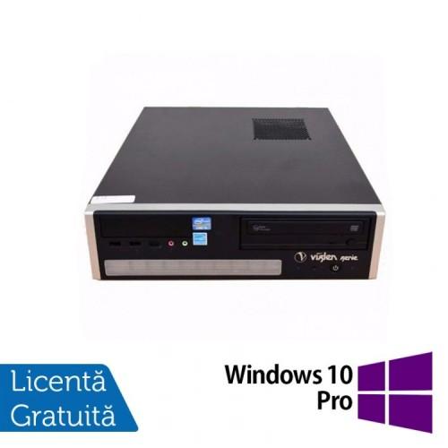 Calculator Viglen Desktop, Intel Core i5-2400 3.10GHz, 4GB DDR3, 250GB SATA, DVD-RW + Windows 10 Pro, Refurbished