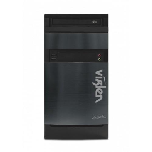 Calculator Viglen Tower, Intel Core i7-4790 3.6GHz, 4GB DDR3, 500GB SATA, DVD-RW, Second Hand