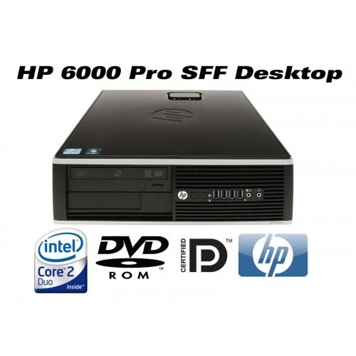 Calculator HP 6000 Pro Desktop , Intel Core 2 Duo  E8400, 3.0GHz, 2GB DDR3, 160GB HDD, DVD-RW ***