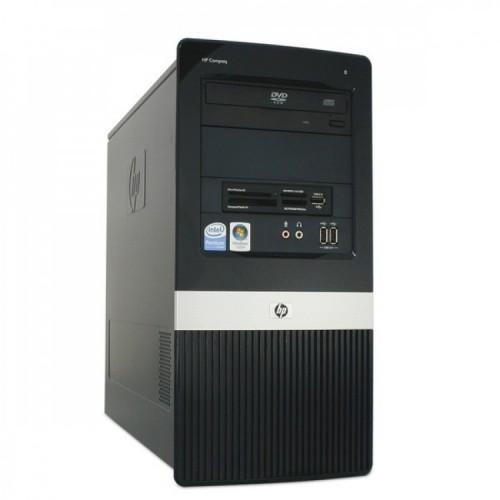 Calculator HP Compaq DX2400, Intel Core 2 Duo E7200 2.53GHz, 2GB DDR2, 250GB SATA, DVD-ROM, Second Hand