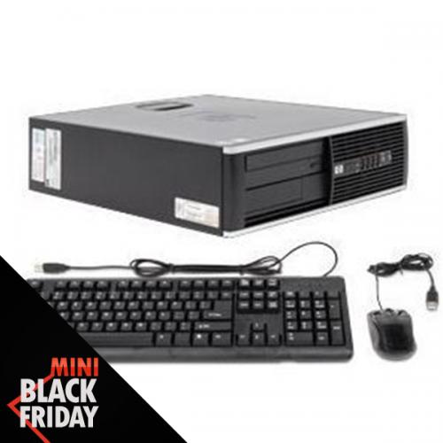Calculator second hand HP 6000 Pro Core 2 Duo E8400 3.0GHz 4GB DDR3 250GB HDD Sata DVD Desktop