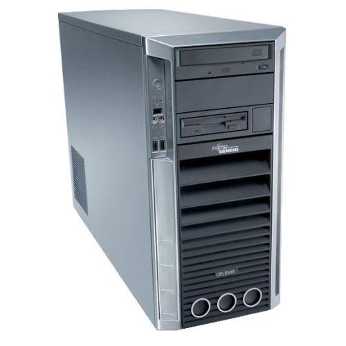 Sistem PC SH Fujitsu CELSIUS M450, Intel Core 2 Quad Q6600, 2.40GHz, 4Gb DDR2 ECC, 160Gb SATA, DVD-ROM, NVIDIA Quadro FX 1500 ***