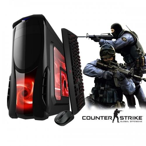 Calculator Gaming Fortnite Tower Intel Core i3-4130 3,40GHz , 8Gb DDR3, 500 GB HDD - GTA5, CS-GO, Fortnite
