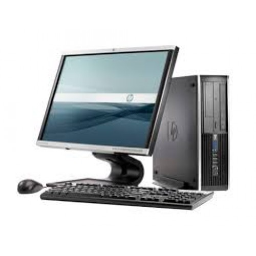 PACHET Computer HP Compaq 6000 Pro Desktop, Intel E6850 Core 2 Duo, 3.0Ghz, 2Gb DDR3, 160Gb, DVD-RW  cu Monitor LCD