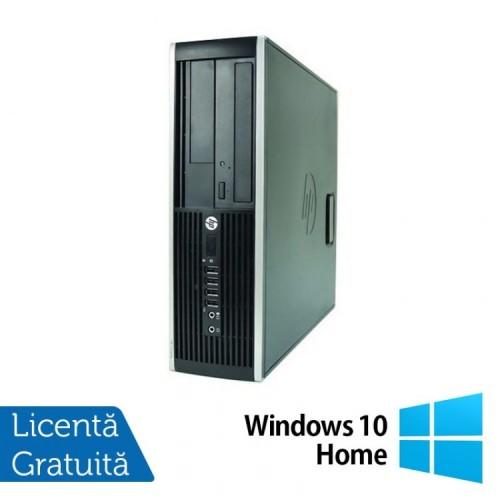Computer HP Compaq Elite 8000 SFF, Intel Core 2 Duo E7500 2.93GHz, 2GB DDR3, 250GB SATA, DVD-RW + Windows 10 Home, Refurbished