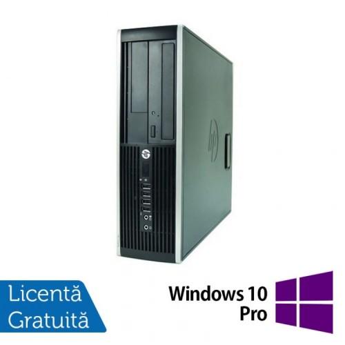 Computer HP Compaq Elite 8000 SFF, Intel Core 2 Duo E7500 2.93GHz, 2GB DDR3, 250GB SATA, DVD-RW + Windows 10 Pro, Refurbished