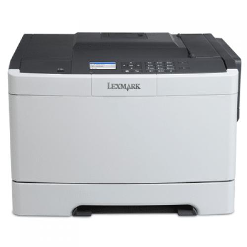 Imprimanta Second Hand Color Lexmark CS410DN, A4, 30ppm, Duplex, Retea
