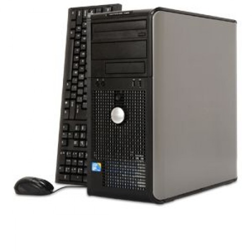 Calculator Dell Optiplex 780 Tower, Intel Core 2 Quad Q6600 2.40GHz, 4Gb DDR3, 250GB SATA, DVD