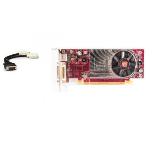 Placa video PCI-E Ati Radeon HD 2400 XT, 256 Mb, DMS-59, TV-out + adaptor DMS-59 la 2 x DVI