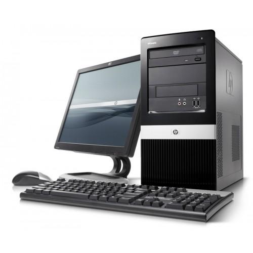 Unitate HP ProLiant ML110 G6 Tower, Intel Xeon Quad X3430 Gen6 2.4Ghz, 8Gb DDR3, 250Gb SATA, DVD-RW cu Monitor LCD ***
