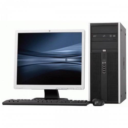 PACHET Calculator HP DC5800 Tower, Core 2 Duo E6550 2.33Ghz, 2Gb DDR2, 160 GB SATA, DVD cu Monitor LCD