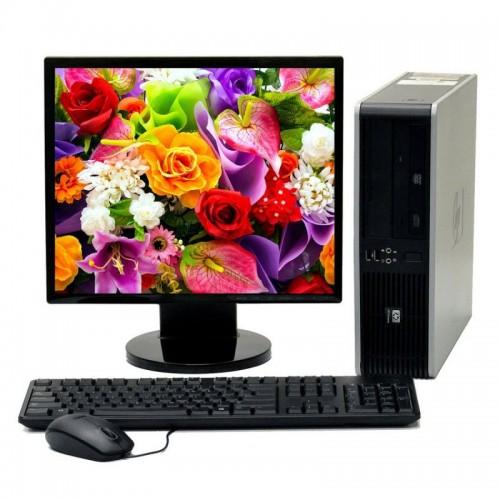 Pachet HP DC5700, Core 2 Duo E6300, 1.8Ghz, 1Gb DDR2, 80 GB SATA, DVD-ROM cu Monitor LCD ***