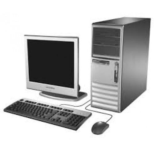 Calculator HP DC7600 Tower, Pentium D Dual Core, 3.0GHz, 2Gb DDR2, 80Gb SATA, DVD-ROM cu Monitor LCD