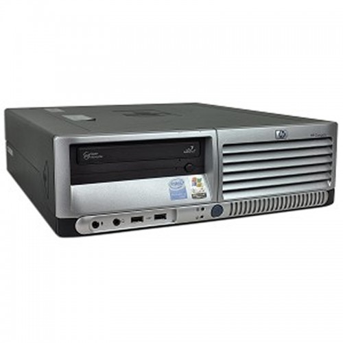 Unitate HP Compaq DC7600 Desktop Pentium 4, 2.80GHz, 2Gb DDR2, 80Gb, DVD-ROM