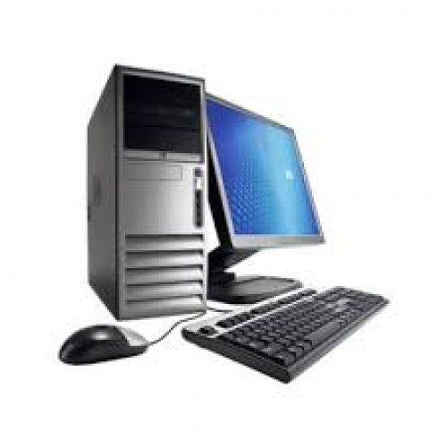 PC HP DC 7700 , Intel Core2 Duo E6300 1.86Ghz, 2Gb DDR2, 80Gb, DVD-RW cu Monitor LCD ***