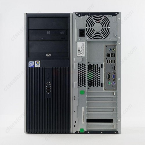 HP Compaq DC7900, Intel Core 2 Quad Q8400, 2.66Ghz, 4Gb DDR2, 250Gb HDD, DVD-RW