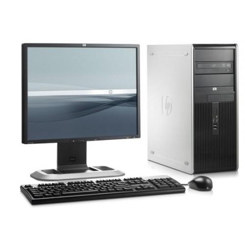 Pachet PC+LCD SH HP DC7900 Tower, Intel Core 2 Duo E8400 3.0Ghz, 2Gb DDR2, 160Gb SATA, DVD-RW