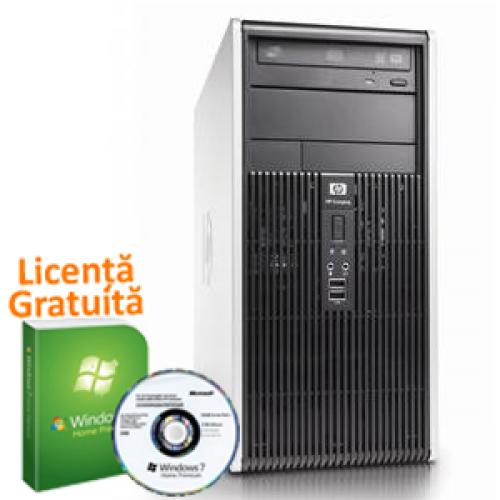 Calculatoare Refurbished Hp DC7900, Intel Dual Core E8400, 3.0Ghz, 4Gb DDR2, 250Gb HDD, DVD-RW - Windows 7 Professional