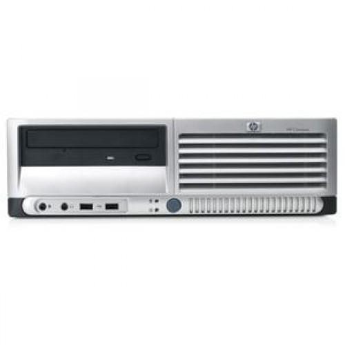 PC SH HP DC 7700 SFF, Intel Core2 Duo E6300 1.86Ghz, 2Gb DDR2, 80Gb, DVD-RW