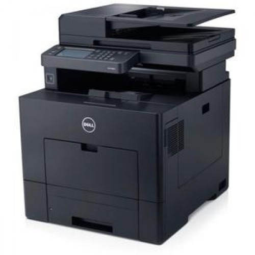 Multifunctionala Color DELL C3765cnF, Imprimanta, Copiator, Scanner, Fax, Duplex, Retea, USB, A4
