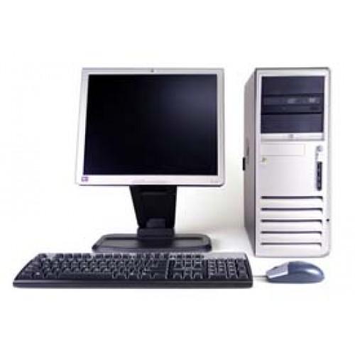 Calculatoare SH HP DC7600 Pentium D, 3.4GHz, 2Gb DDR2, 80Gb Sata, DVD-ROM cu Monitor LCD