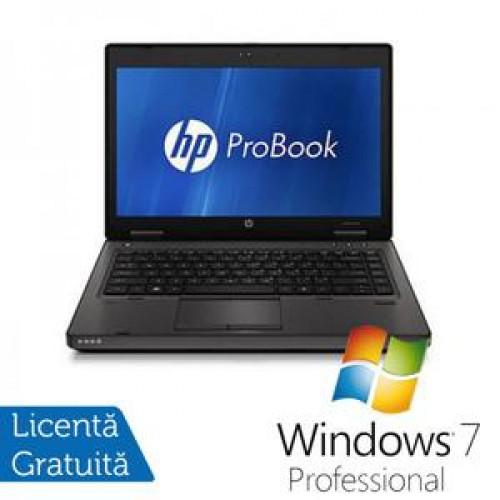 Laptop Refurbished HP ProBook 6460b, Intel Celeron Dual Core B810 1.6Ghz, 4Gb DDR3, 160Gb HDD, DVD-RW, Wi-Fi, 14 Inch + Windows 7 Professional