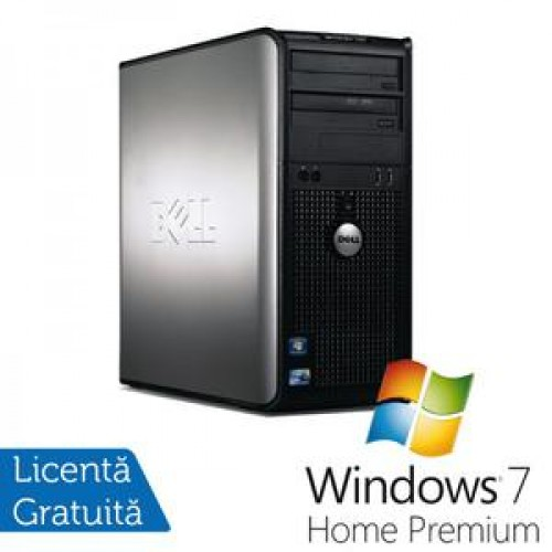 Dell Optiplex GX780 Tower, Intel Core 2 Quad Q9550, 2.83GHz, 4Gb DDR3, 250GB SATA, DVD-RW + Windows 7 home Premium