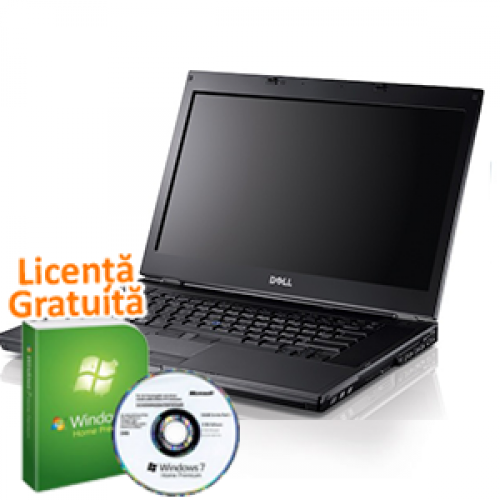 Windows 7 Professional + Laptop SH Dell E6410, Intel Core i5-520M, 2.4Ghz, 4Gb DDR3, 250Gb, DVD-ROM, 14 inch