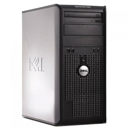 Calculator Dell Optiplex 380 TW, Intel Core 2 Quad Q6600 2.40GHz, 4Gb DDR3, 250GB SATA, DVD-RW