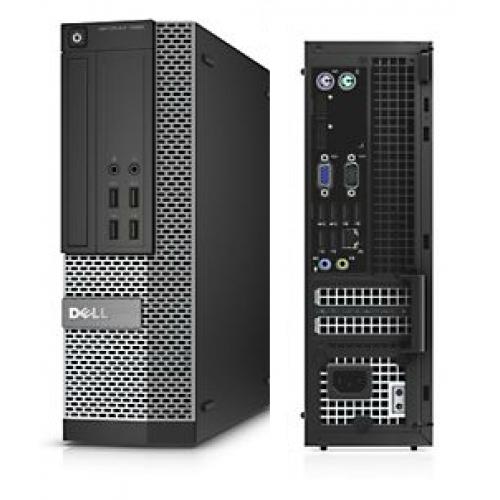 Calculatoare Second Hand Dell Optiplex 7020 SFF Intel Core I5-4460 3.40Ghz, 8GB DDR3, SSD 256GB, DVD-ROM