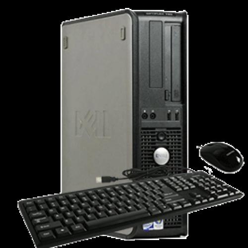 PC SH Dell Optiplex 330 Desktop, Procesor Intel Core Duo  E2200, 2.20GHz, 2Gb DDR2, HDD 80Gb, DVD-ROM