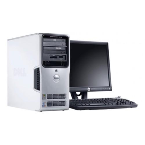 Computer SH Dell Dimension 9100, Intel D 830, 3.0Ghz, 2Gb DDR2, 80Gb SATA, DVD-ROM cu Monitor 15 inch LCD
