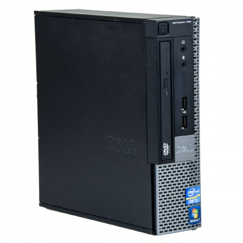 Calculator second hand Dell Optiplex 790 USDT Core i3-2100 3.10GHz, 4GB DDR3, 160Gb HDD, DVD-ROM