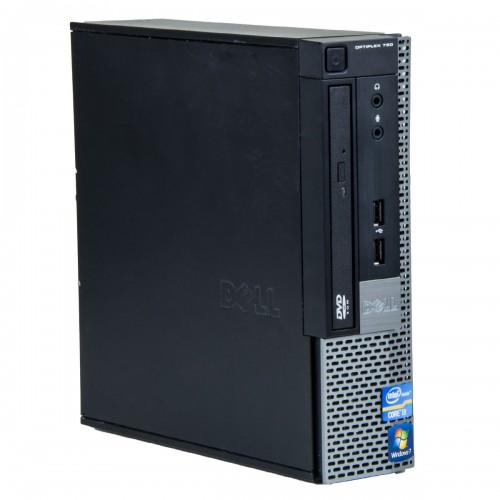 Calculator second hand Dell Optiplex 790 USDT Core i3-2100 3.10GHz, 4GB DDR3, 160Gb HDD, DVD-ROM