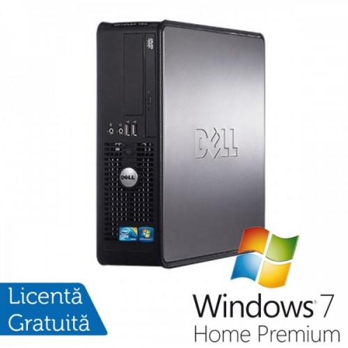 Dell Optiplex GX780 SFF, Intel Core 2 Duo E7500, 2.93GHz, 4Gb DDR3, 160GB SATA, DVD-ROM + Windows 7 Home