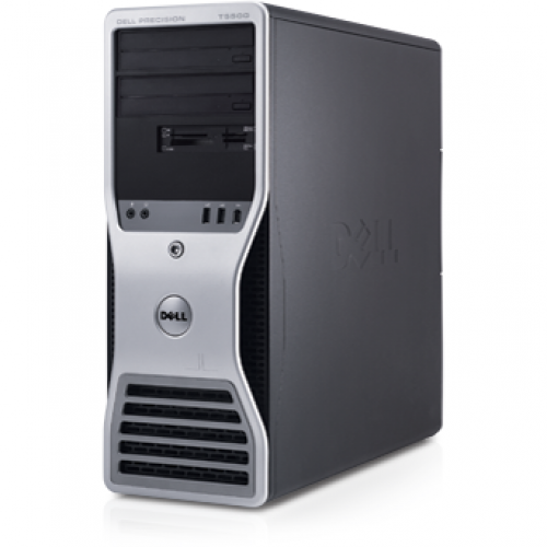 PC Dell Precision T7500 Xeon Dual Core E5502 1.83Ghz 4GB DDR2  250GB Sata DVD ATI X1300 256 MB Tower + Windows 7 Professional