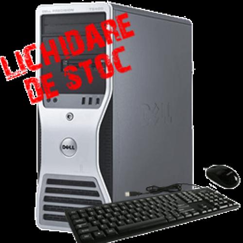 DELL Precision T5500, Intel Xeon Six Core X5650, 2.67Ghz, 8GB DDR3 FBD, 250Gb HDD Quadro FX3700 ***