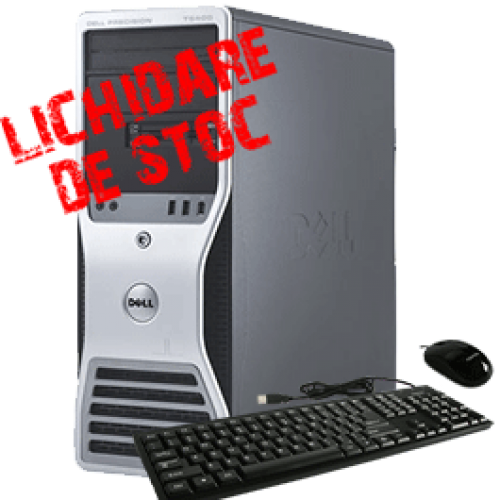 DELL Precision T5500, Intel Xeon Quad Core E5640, 2.66Ghz, 8GB DDR3 FBD, 250Gb HDD Quadro FX3700 ***