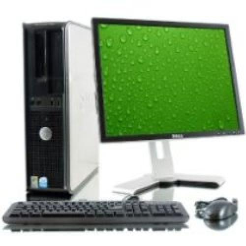Pachet Dell Optiplex 330 Desktop,Procesor Intel Core Duo  E5700 3,0Ghz, 2Gb DDR2  ,HDD 160Gb,DVD-ROM cu monitor LCD