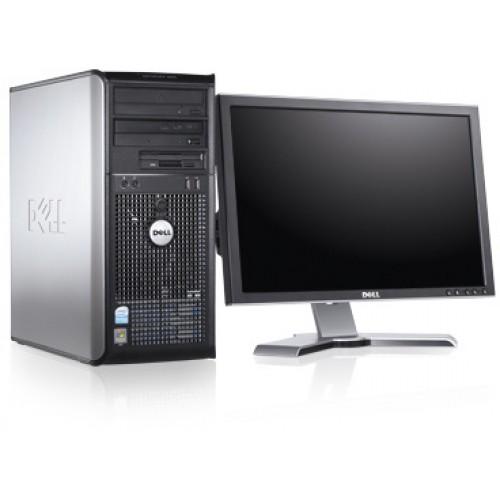 Pachet Calculator SH Dell Optiplex 360 Desktop Core 2 Duo E6400 2.13Ghz 2Gb DDR2, 80Gb DVD-ROM ***