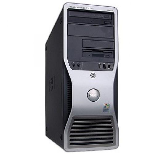 PC  Dell Precision 380, Intel Pentium D 3.4GHz Dual Core, 2GB DDR2, 80GB SATA, DVD