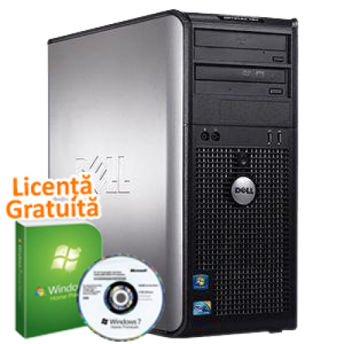 Promotie  Dell  380, Intel Pentium Dual Core E5700, 3.0Ghz, 2Gb DDR2, 160Gb HDD, DVDR  Windows 7 Premium