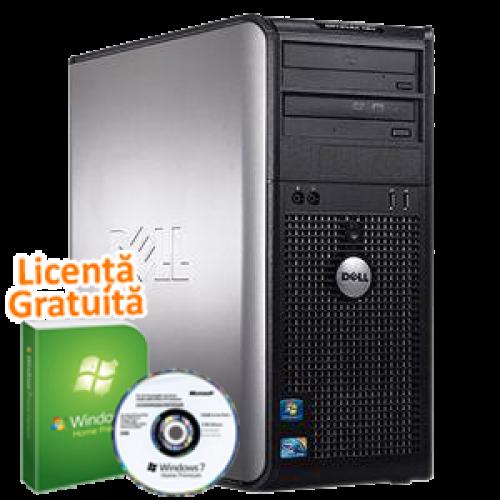 Promotie  Dell  380, Intel Pentium Dual Core E5700, 3.0Ghz, 2Gb DDR2, 160Gb HDD, DVDR  Windows 7 Premium