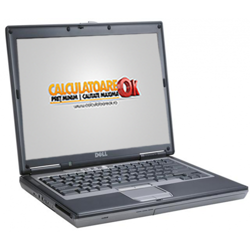 Laptop Ieftin Dell Latitude D620, Intel Core 2 Duo T2500 2.0GHz, 4Gb DDR2, 80Gb HDD, DVD-RW, 14 inci ***