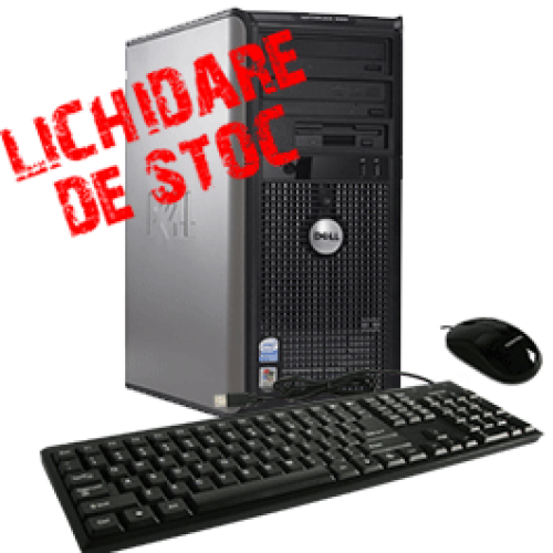 Calculator  Dell Optiplex 760 Tower, Core 2 Duo E8400 3.0GHz, 2Gb DDR2, 80Gb HDD, DVD-RW