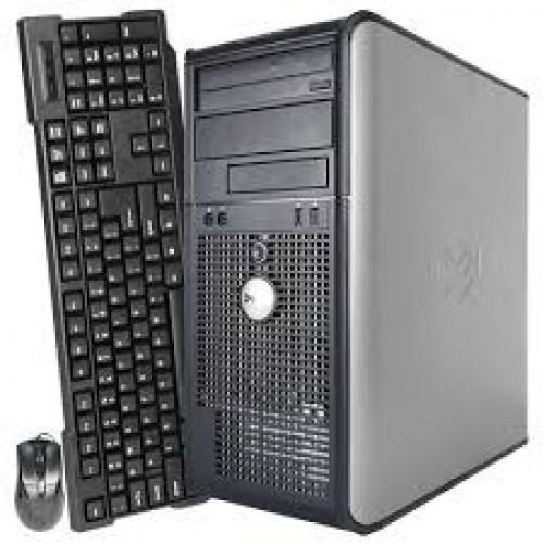 PC Dell Optiplex 380 TOWER, Intel Core2 Quad Q8400, 2.66Ghz, 4Gb DDR3, 250Gb HDD, DVD-ROM