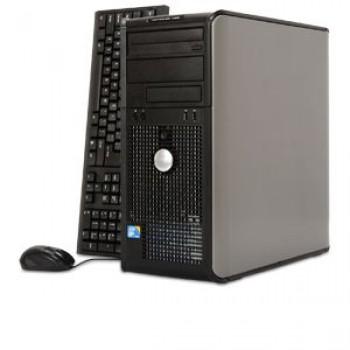 Calculator Dell Optiplex 740, Tower, Dual Core AMD Athlon 64 X2 5200+, 2.70GHz, 2Gb DDR2, 160Gb, DVD