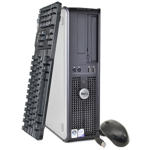 PC Calculator SH Dell Optiplex 780, Desktop, Core 2 Duo E8400 3.00Ghz, 2Gb DDR3, 250Gb, DVD-ROM