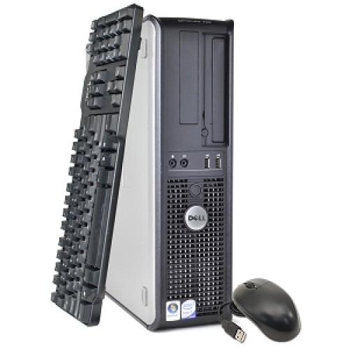PC Calculator SH Dell Optiplex 780, Desktop, Core 2 Duo E8400 3.00Ghz, 2Gb DDR3, 250Gb, DVD-ROM